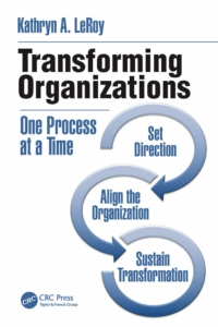 Book cover of Transforming Organizations_Kathryn A. LeRoy